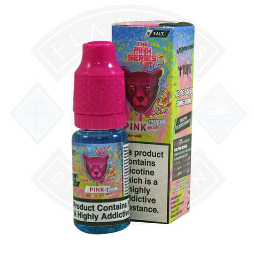 Dr Vapes The Panther Pink Series Nic Salts - Pink Sour Candy Remix Frozen Blackcurrant 10ml