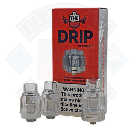 Dr Vapes The Drip Ultimate Tank 3 pack