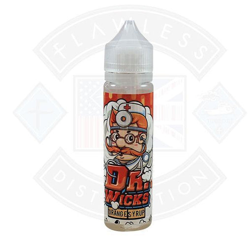 Dr Wicks Orange Syrup 0mg 50ml Shortfill