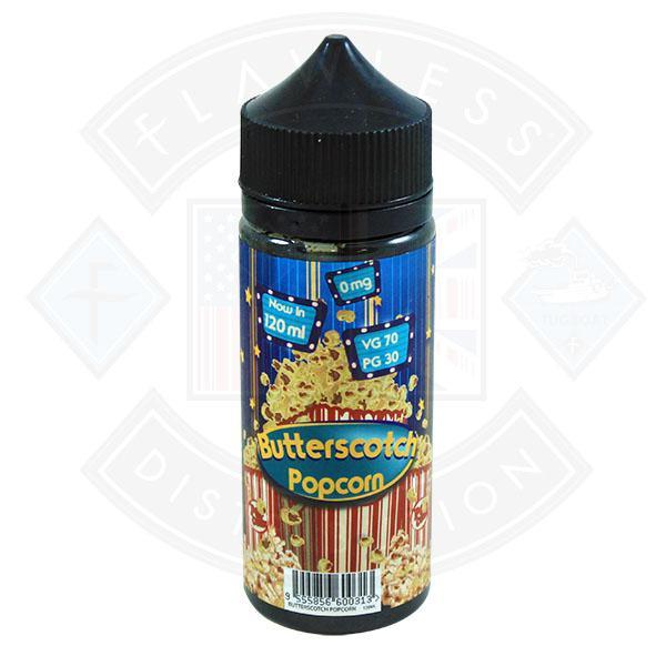 FIZZY BUTTERSCOTCH POPCORN 0MG 100ML SHORTFILL E-LIQUID - Flawless Vape Shop