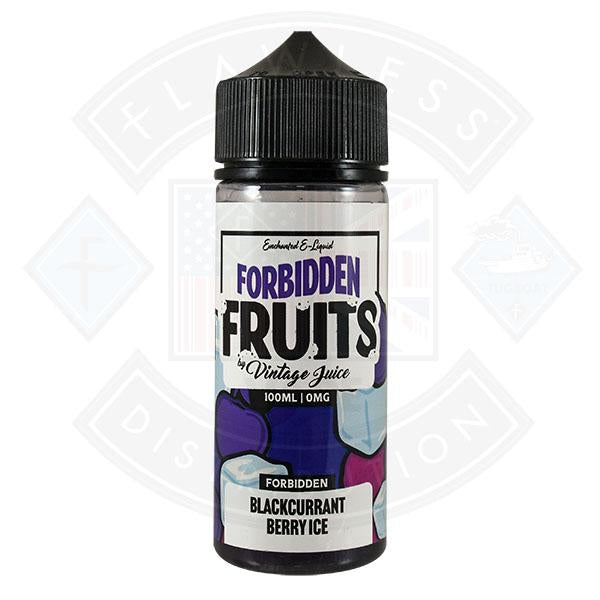 Forbidden Fruits by Vintage Juice - Blackcurrant Berry Ice 0mg 100ml Shortfill