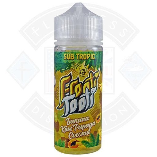 Frooti Tooti- Banana Kiwi Papaya Coconut 0mg 100ml Shortfill