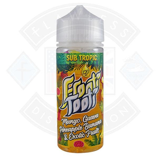 Frooti Tooti- Mango Guava Pineapple Banana Exotic Fruit 0mg 100ml Shortfill