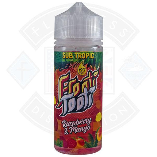 Frooti Tooti- Raspberry Mango 0mg 100ml Shortfill