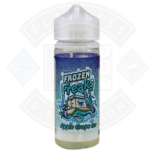 Frozen Freaks Apple & Grape Ice 0mg 100ml Shortfill