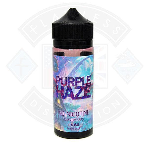 Purple Haze 100ml 0mg Short fill E liquid