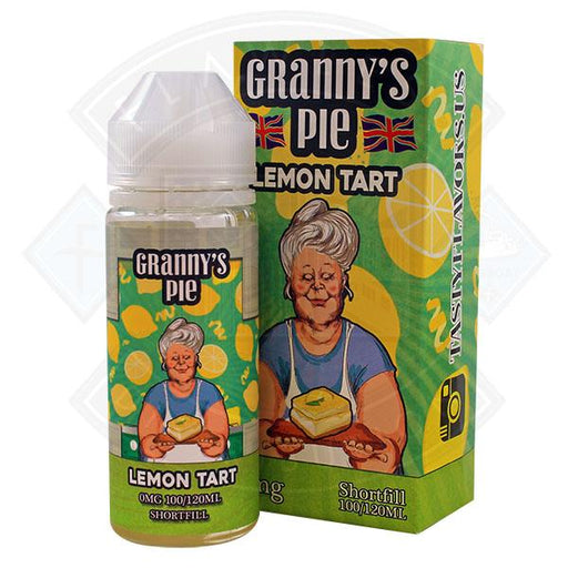 Tasty Flavors Granny's Pie - Lemon Tart 0mg 100ml Shortfill