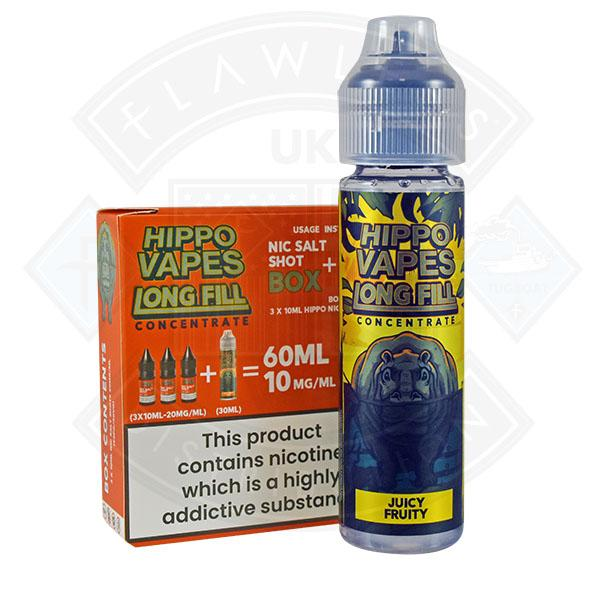 Hippo Vapes Longfill Concentrate Juice Fruity 30ml