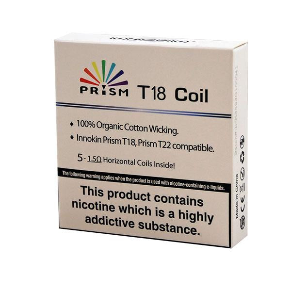 Endura Prism T18 replacement coil 5 pack