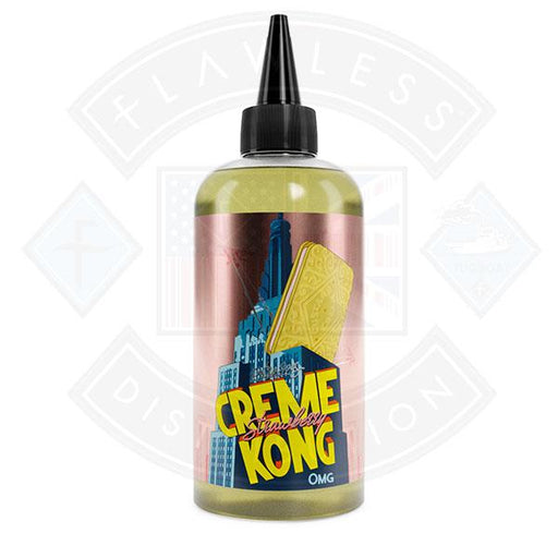 Retro Joes Strawberry Creme Kong E-liquid 0mg 200ml