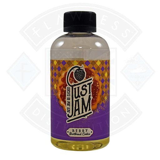 Just Jam Berry Shortbread Cookie 0mg 200ml Shortfill E-Liquid