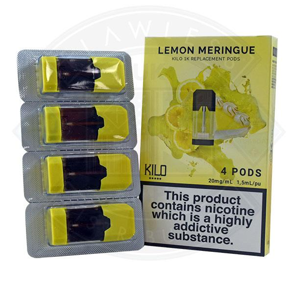 Kilo 1K Replacement Pod Lemon Meringue 20mg 4pods/pack