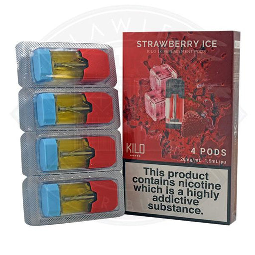 Kilo 1K Replacement Pod Strawberry Ice 20mg 4pods/pack