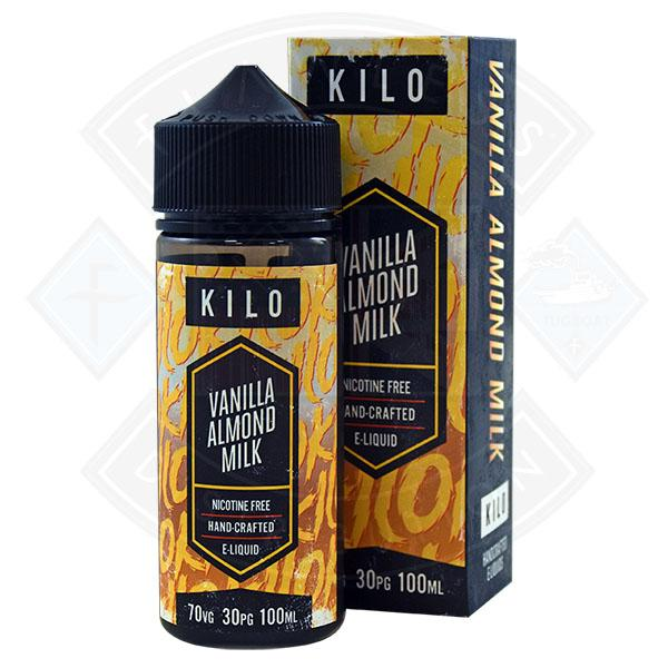 Kilo New Series Vanilla Almond Milk 0mg 100ml shortfill