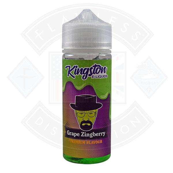 Kingston Grape Zingberry 0mg 100ml 70/30 Shortfill E-Liquid