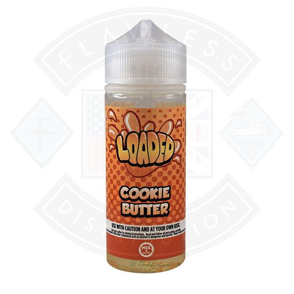 Loaded Cookie Butter 0mg 100ml Shortfill E-Liquid