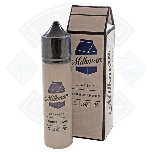 The Milkman Classics Strudelhaus 50ml 0mg shortfill e-liquid