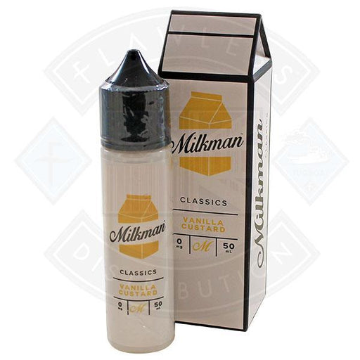 The Milkman Classics Vanilla Custard 50ml 0mg shortfill e-liquid