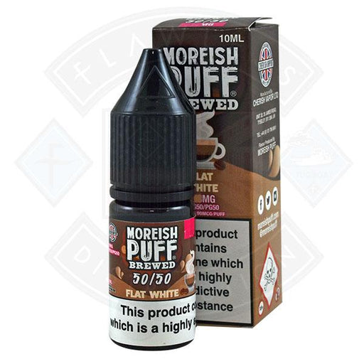 Moreish Puff Brewed 50/50 Flat White 10ml