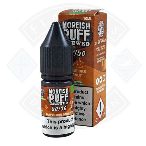 Moreish Puff Brewed 50/50 Maple Bar Donut 10ml