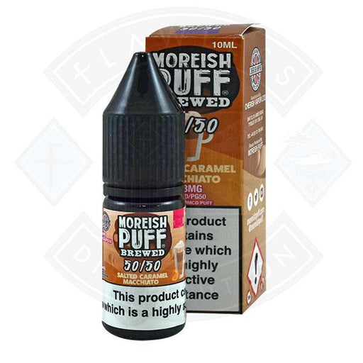 Moreish Puff Brewed 50/50 Salted Caramel Macchiato 10ml