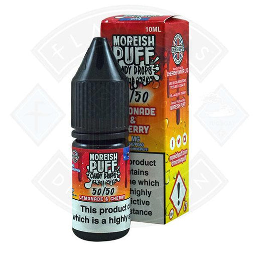 Moreish Puff Candy Drops 50/50 Lemonade & Cherry 10ml