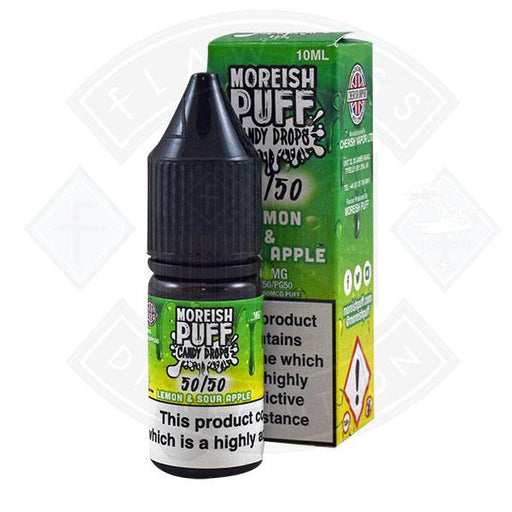 Moreish Puff Candy Drops 50/50 Lemon & Sour Apple 10ml
