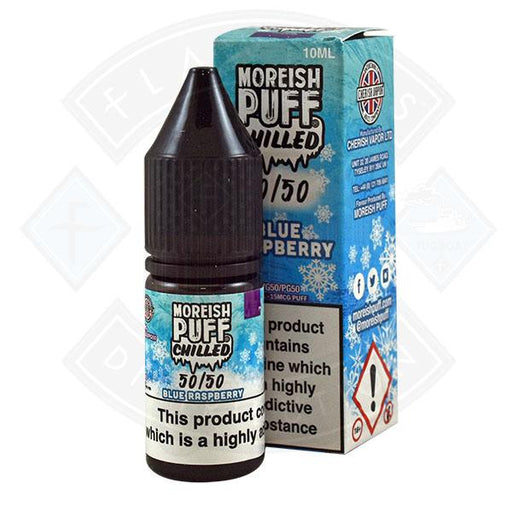 Moreish Puff Chilled 50/50 Blue Raspberry 10ml