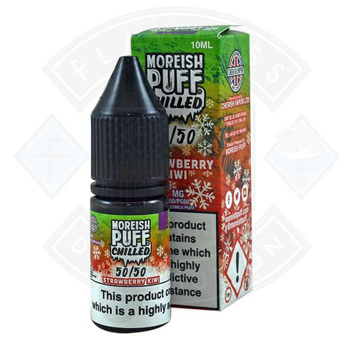 Moreish Puff Chilled 50/50 Strawberry Kiwi 10ml