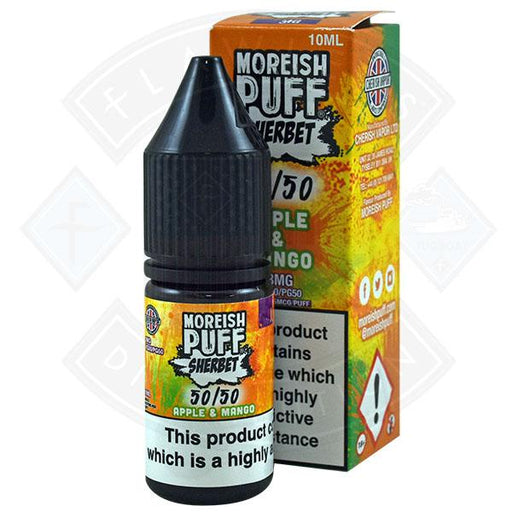 Moreish Puff Sherbet 50/50 Apple & Mango 10ml