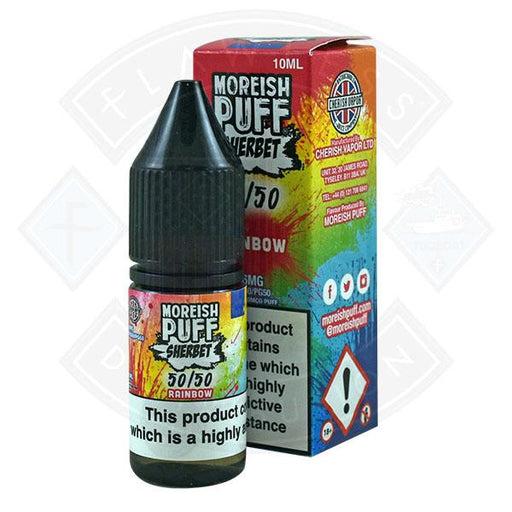 Moreish Puff Sherbet 50/50 Rainbow 10ml