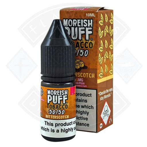 Moreish Puff Tobacco 50/50 Butterscotch 10ml