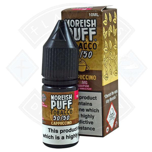 Moreish Puff Tobacco 50/50 Cappuccino 10ml