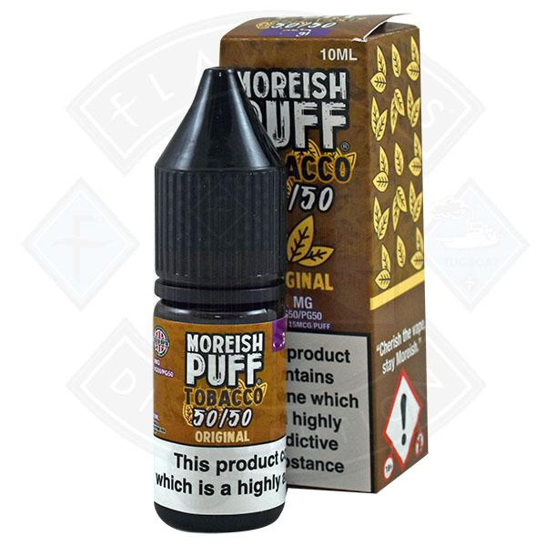Moreish Puff Tobacco 50/50 Original 10ml
