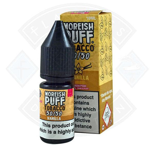 Moreish Puff Tobacco 50/50 Vanilla 10ml
