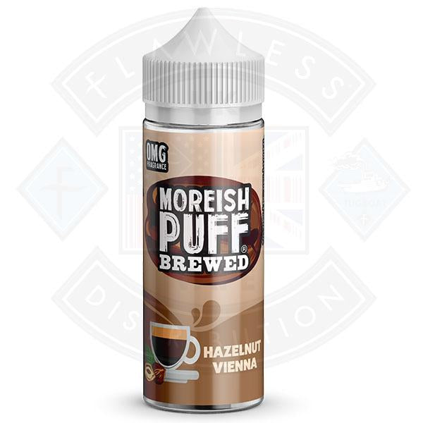 Moreish Brewed Hazelnut Vienna 100ml 0mg shortfill e-liquid