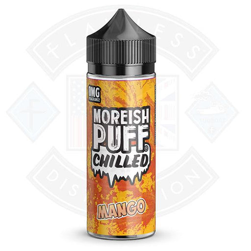 Moreish Puff Chilled Mango 0mg 100ml Shortfill E-liquid