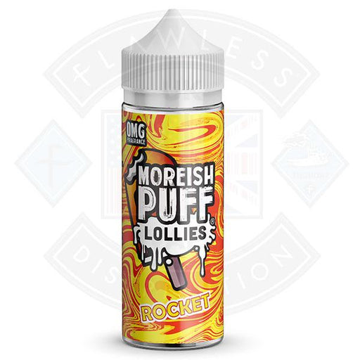 Moreish Lollies Rocket 100ml 0mg shortfill e-liquid