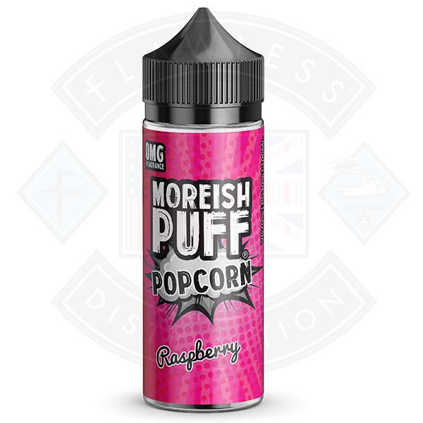 Moreish Puff Popcorn Raspberry 0mg 100ml Shortfill E-liquid