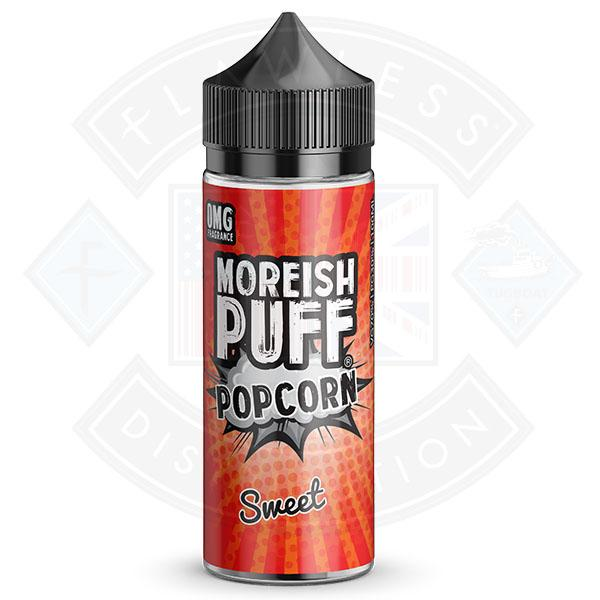 Moreish Puff Popcorn Sweet 0mg 100ml Shortfill E-liquid