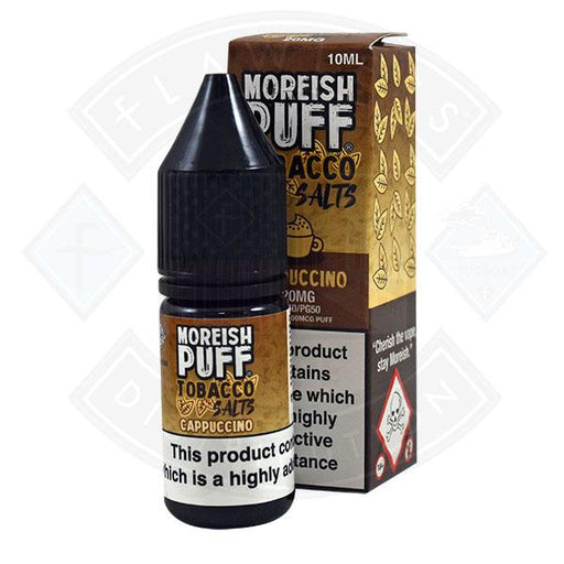 Moreish Puff Tobacco Nic Salt Cappuccino 10ml