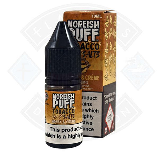 Moreish Puff Tobacco Nic Salt Honey and Creme 10ml