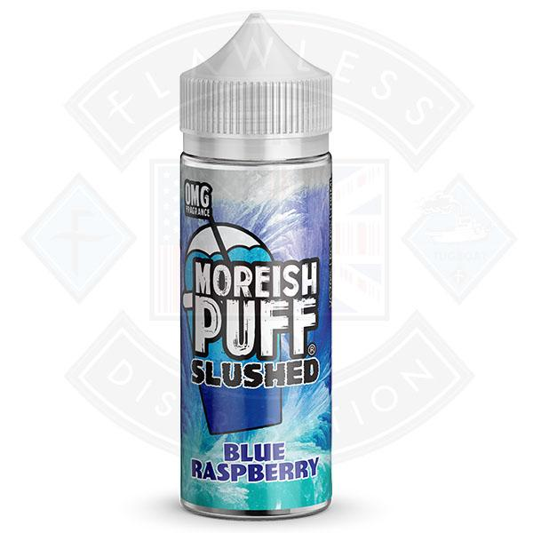 Moreish Slushed Blue Raspberry 100ml 0mg shortfill e-liquid