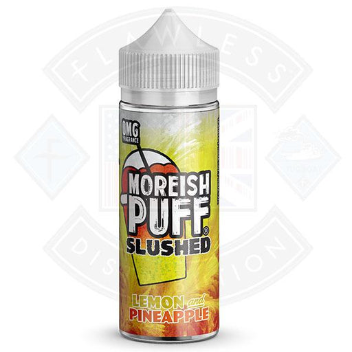Moreish Slushed Lemon & Pineapple 100ml 0mg shortfill e-liquid
