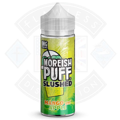 Moreish Slushed Mango & Apple 100ml 0mg shortfill e-liquid