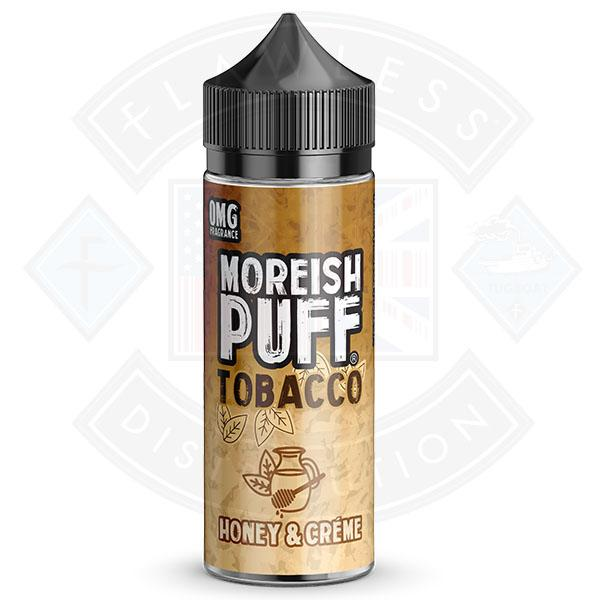 Moreish Puff Tobacco Honey Cream 0mg 100ml Shortfill E-liquid