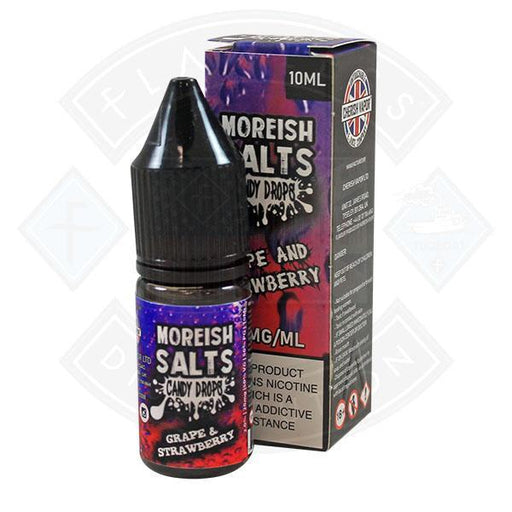 Moreish Puff Nic Salt Candy Drops Grape & Strawberry 10ml