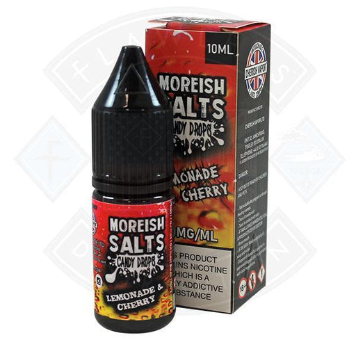 Moreish Puff Nic Salt Candy Drops Lemonade & Cherry 10ml