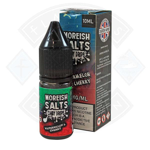 Moreish Puff Nic Salt Candy Drops Watermelon & Cherry 10ml