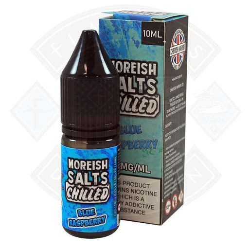 Moreish Puff Nic Salt Chilled Blue Raspberry 10ml